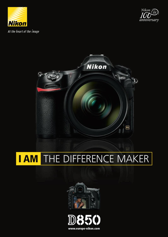 Nikon Graphic Design Work - Tim van den Boog